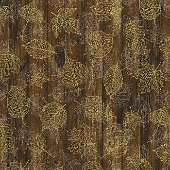 Kaufman Autumn Beauties Brun med Guld