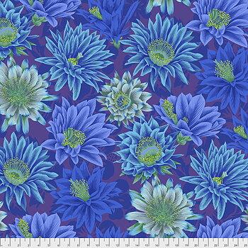 Cactus Flower Blue