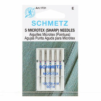 Schmetz Sharps/Microtex 90/14