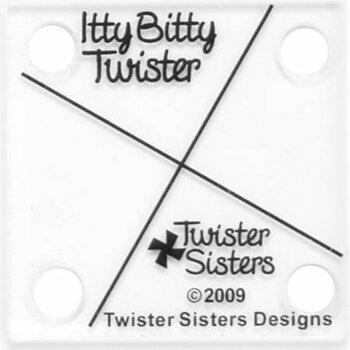 Itty Bitty Pinwheel Twister.  Mönster och Mall