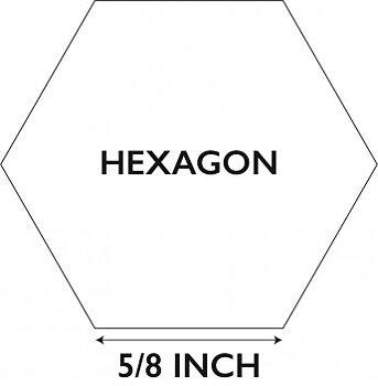 """Hexagoner 5/8"""""""