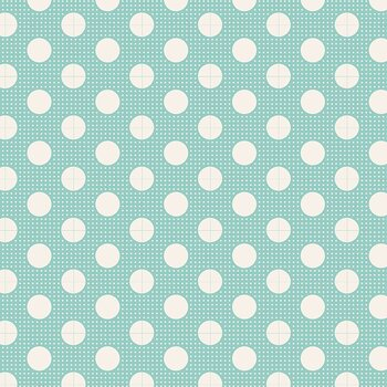 Tilda Medium Dot Teal