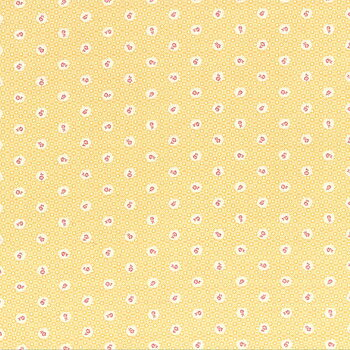 Lecien Små Rosor Gul 50 x 110 cm