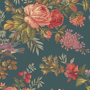 Bed Of Roses  Teal