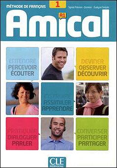 Amical 1, livre de l'élève+mp3