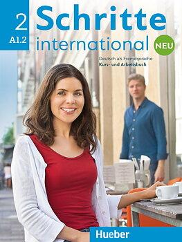 Schritte International Neu 2 Kursbuch+Arbeitsbuch+CD