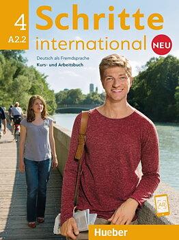 Schritte International Neu 4 Kursbuch+Arbeitsbuch+CD