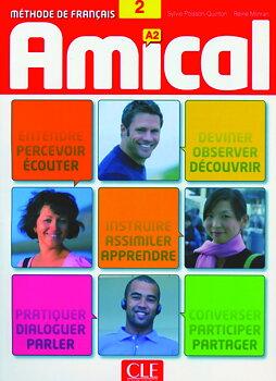 Amical 2, livre de l'élève+mp3