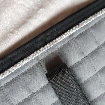 Nr4 Tömkörning underlägg  Mias super kvalite ! Convoj / Silver / Svart 60 x 23 cm