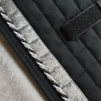Nr5 Tömkörning underlägg  Mias  super kvalite ! Svart / svart vit silver / Silver / Svart 60 x 24 cm