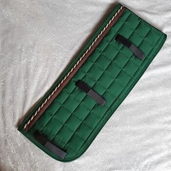 Nr8 Tömkörning underlägg  Mias super kvalite ! Grön/ Brun / Guld brun crem / Grön 60 x 24 cm