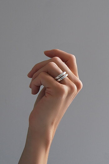 MILA COMBO ringar 4 mm