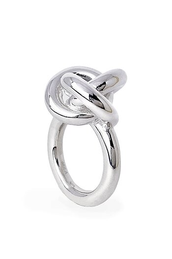 3 in One Fat Knot ring, silver