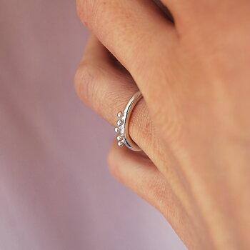 DAGG ring silver
