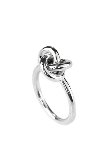 3 in One Knot ring, silver