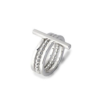 MILA RING STACK Rod+Amalia+Thin ring