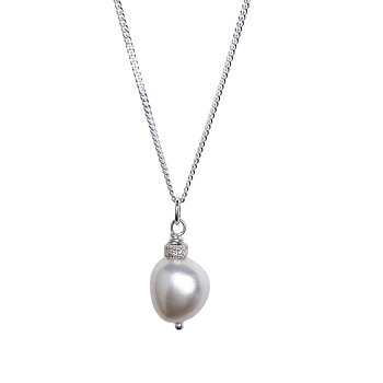 MILA Soft Baroque Pearl Necklace
