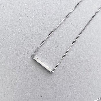 ROD MINI necklace silver