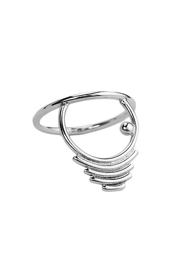 THE JOURNEY ring silver