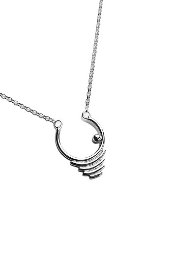 THE JOURNEY necklace silver