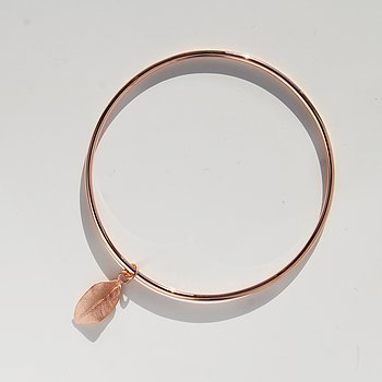 MILA MY GARDEN Bangle, roséguld
