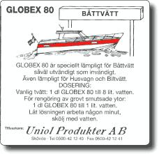 Globex 80 Båttvätt 210 Liter