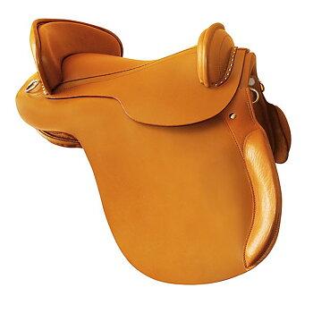 "Spansk sadel i läder, ""Basic"""