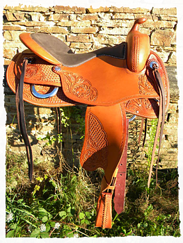Freemax bomlös westernsadel- Round Cow