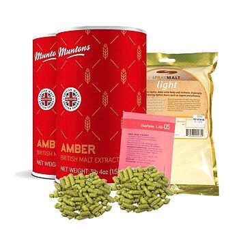 Amber ale opskriftssæt maltekstrakt