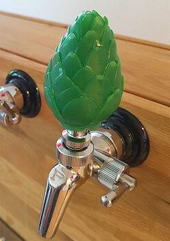Hop Cone tap handle
