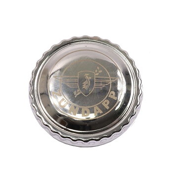 Tank cap Zundapp Chrome with Logo
