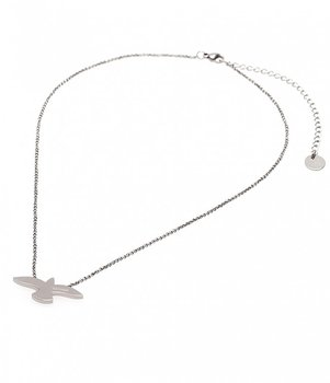 BUD TO ROSE - Dove Necklace in Stainless Steel