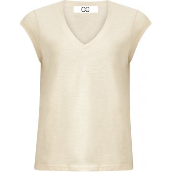 COSTER Copenhagen - KOM - B0022 - Basic Tee - Almond Milk