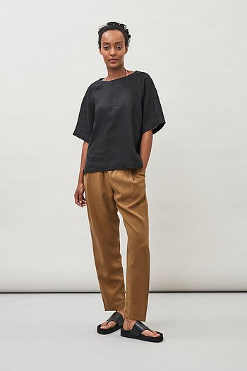 Jira Tencel Trousers - Topaz