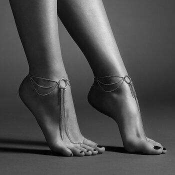 Bijoux Indiscrets - Magnifique Feet Chain Silver