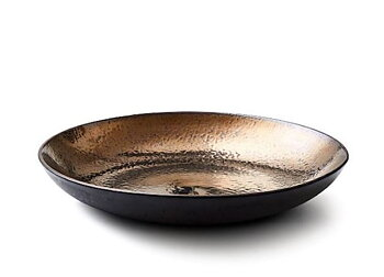 Bitz- Fat 40cm, svart/brons