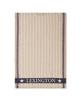 Lexington- Kökshandduk organic bomull/linne, Jacquard