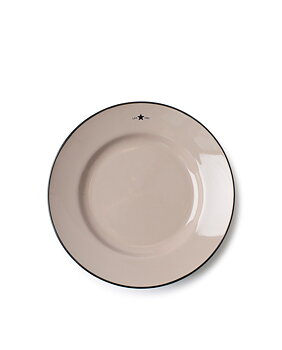 Lexington - Assiett 22,5cm, Stengods Beige