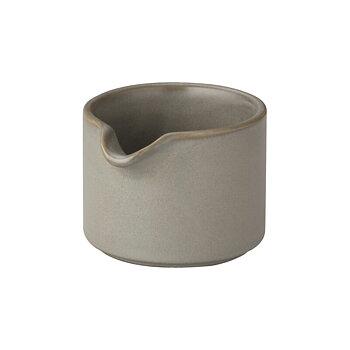 Ernst- Mjölkkanna 7cm, grå eller vit/prickig