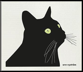 Ann Design- Disktrasa svarta katten