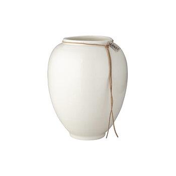 Ernst - Vas stengods mellan 22 cm, vit