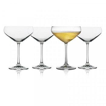 Ljungby glas- Champagneskål 4-pack