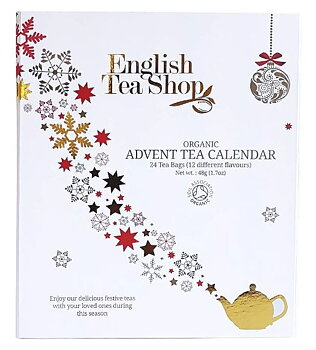 English tea shop-  Tekalender 24 tesorter i tepåsar.