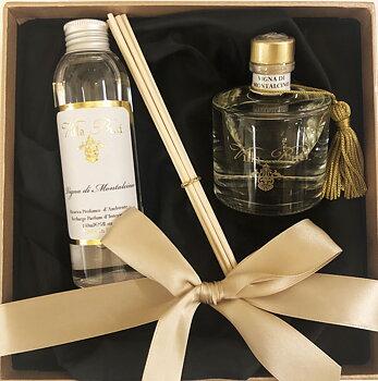 Presentbox Vigna di Montalcino - Reed Diffuser & Refill