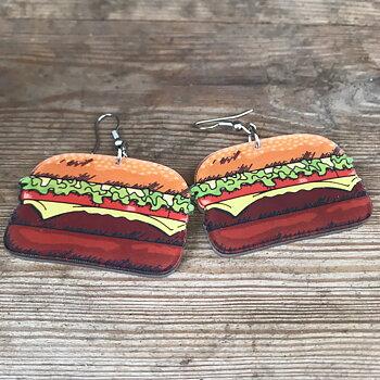 Örhänge hamburgare