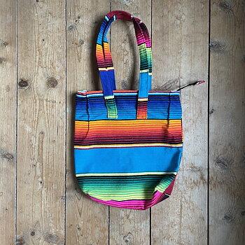 Mexicoväska serape handväska