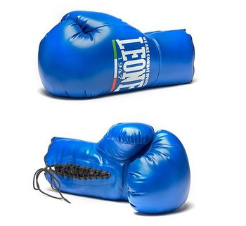 Leone Giant Glove, Blue Left hand 60 x 35 cm