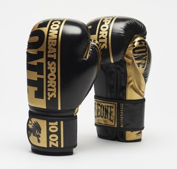 Leone Boxhandske Nexplosion Svart/Guld 10-16 oz