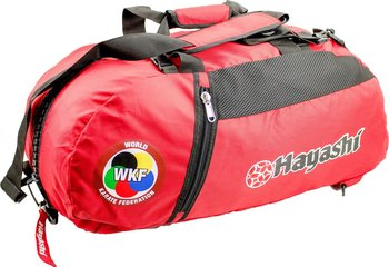Hayashi WKF Gymbag/Backpack, Red Medium