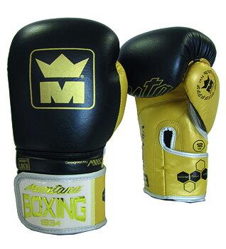 Montana Boxhandske Victory Black/Gold, 10-16 oz